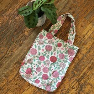 Handbags - Adorable flower canvas tote